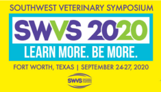 2020 Southwest Veterinary Symposium Annual Meeting